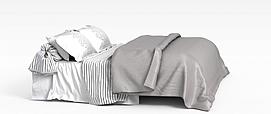 素雅寝具模型