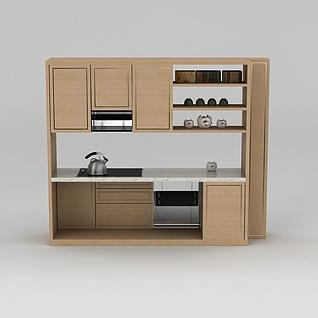 橱柜3d模型3d模型