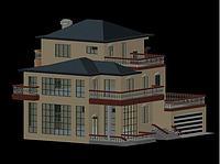 大别墅3d模型