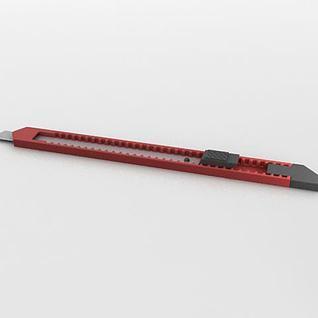 美工刀3d模型