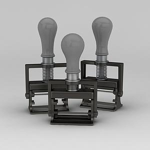 工业风灯具模型