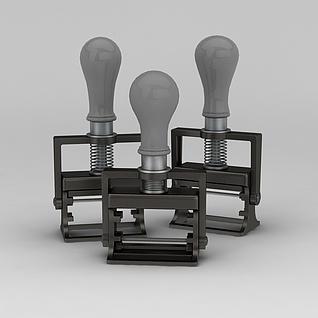 工业风灯具3d模型