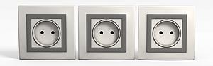 3d墙壁电源<font class='myIsRed'>插座</font>模型