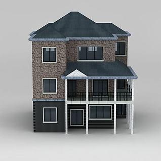 小别墅3d模型
