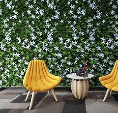 植物装饰墙香蕉椅组合模型3d模型