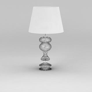 水晶台灯3d模型3d模型