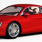 奥迪R8模型