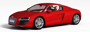 3d奥迪R8模型