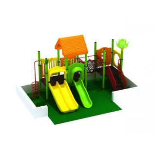 儿童滑梯3d模型