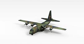 运输机C130-YUN20模型