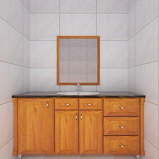 卫浴柜3d模型