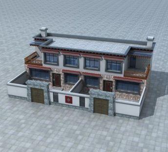 藏族住房建筑