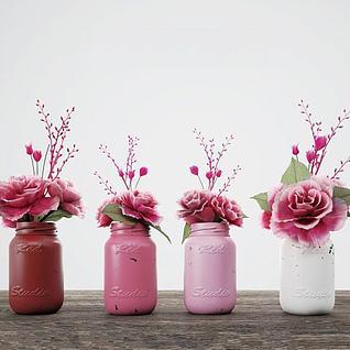 植物花卉装饰品3d模型