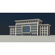 办公大楼3D模型3d模型