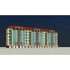 欧式住宅楼3D模型3d模型