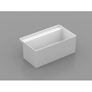 精品浴缸3d模型