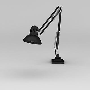 工业风台灯3d模型3d模型