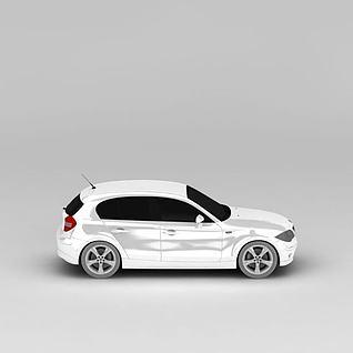 宝马SUV车型3d模型