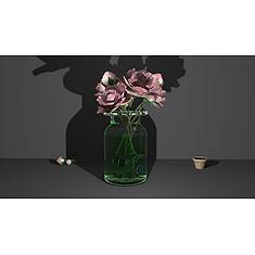 鲜花花瓶3D模型3d模型