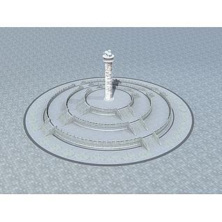 天坛3d模型