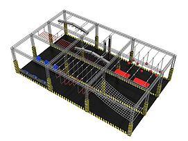 拓展训练设施模型