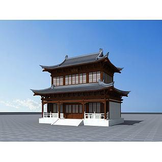 观音寺3d模型3d模型