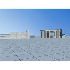 门卫室3D模型3d模型