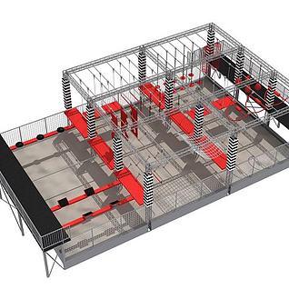 拓展设备3d模型
