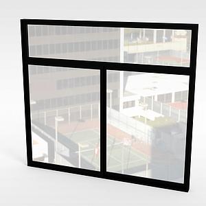 窗戶模型3d模型