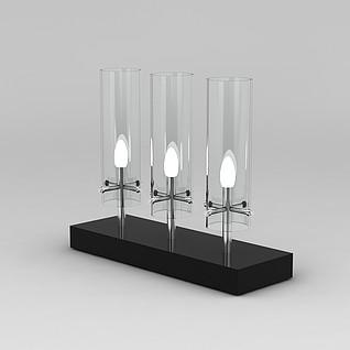 灯饰摆件3d模型