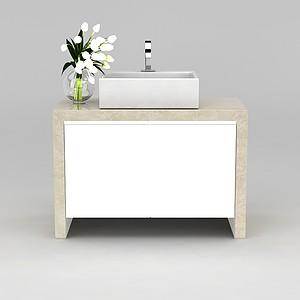 洗手台模型