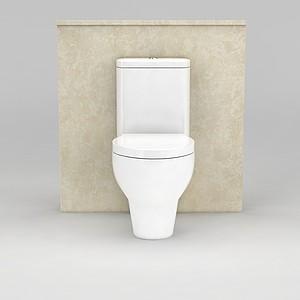 卫生间马桶模型
