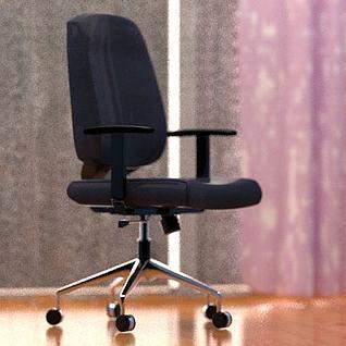 家用电脑椅3d模型