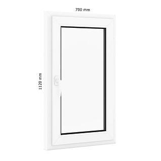 单扇平开窗户3d模型