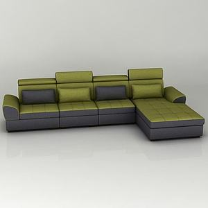 客廳組合沙發模型3d模型