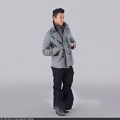 男人3D模型3d模型