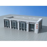 体育馆3D模型3d模型