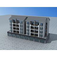 改造民居3D模型3d模型