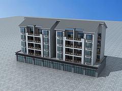 改造民居模型3d模型