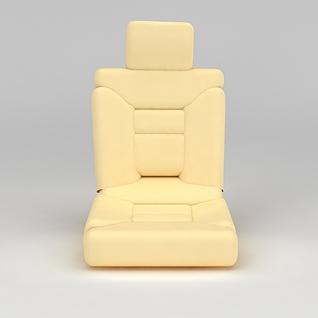 汽车坐垫3d模型