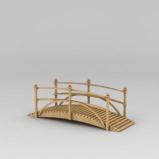 景观木桥3d模型