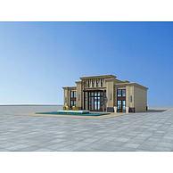 售楼部3D模型3d模型