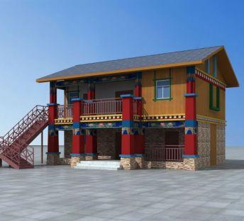 藏式民居建筑