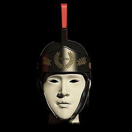 罗马骑兵指挥官头盔模型