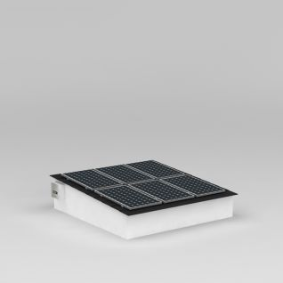 太阳能板3d模型3d模型