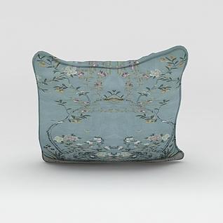 刺绣抱枕3d模型3d模型