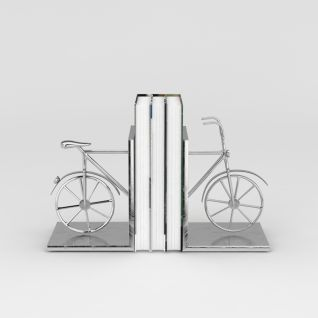 创意自行车书立3d模型3d模型