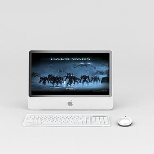 苹果平板电脑3d模型3d模型