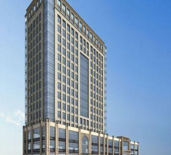 高级酒店建筑