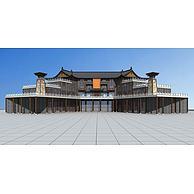 博物馆3D模型3d模型